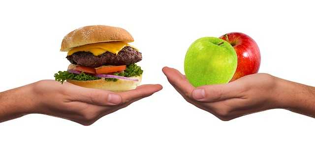 jídlo na dlani