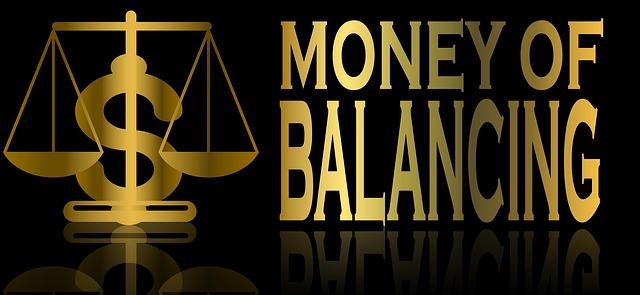 peníze v rovnováze