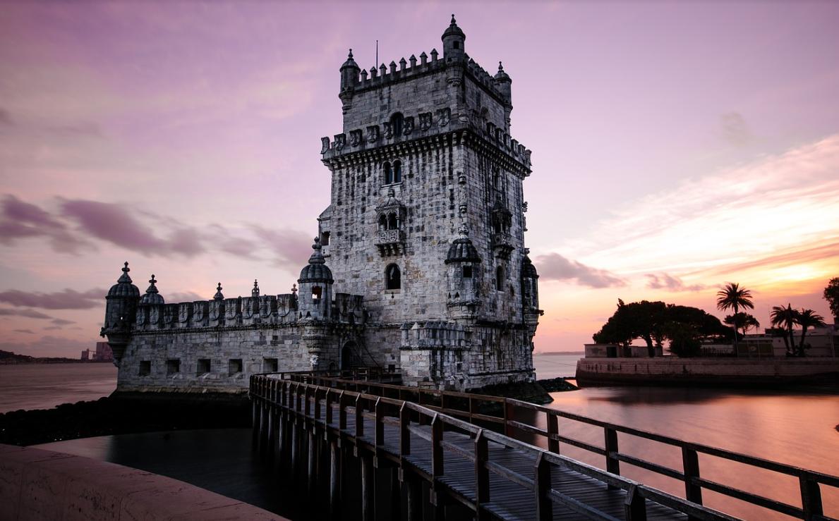 přístav v Portugalsku